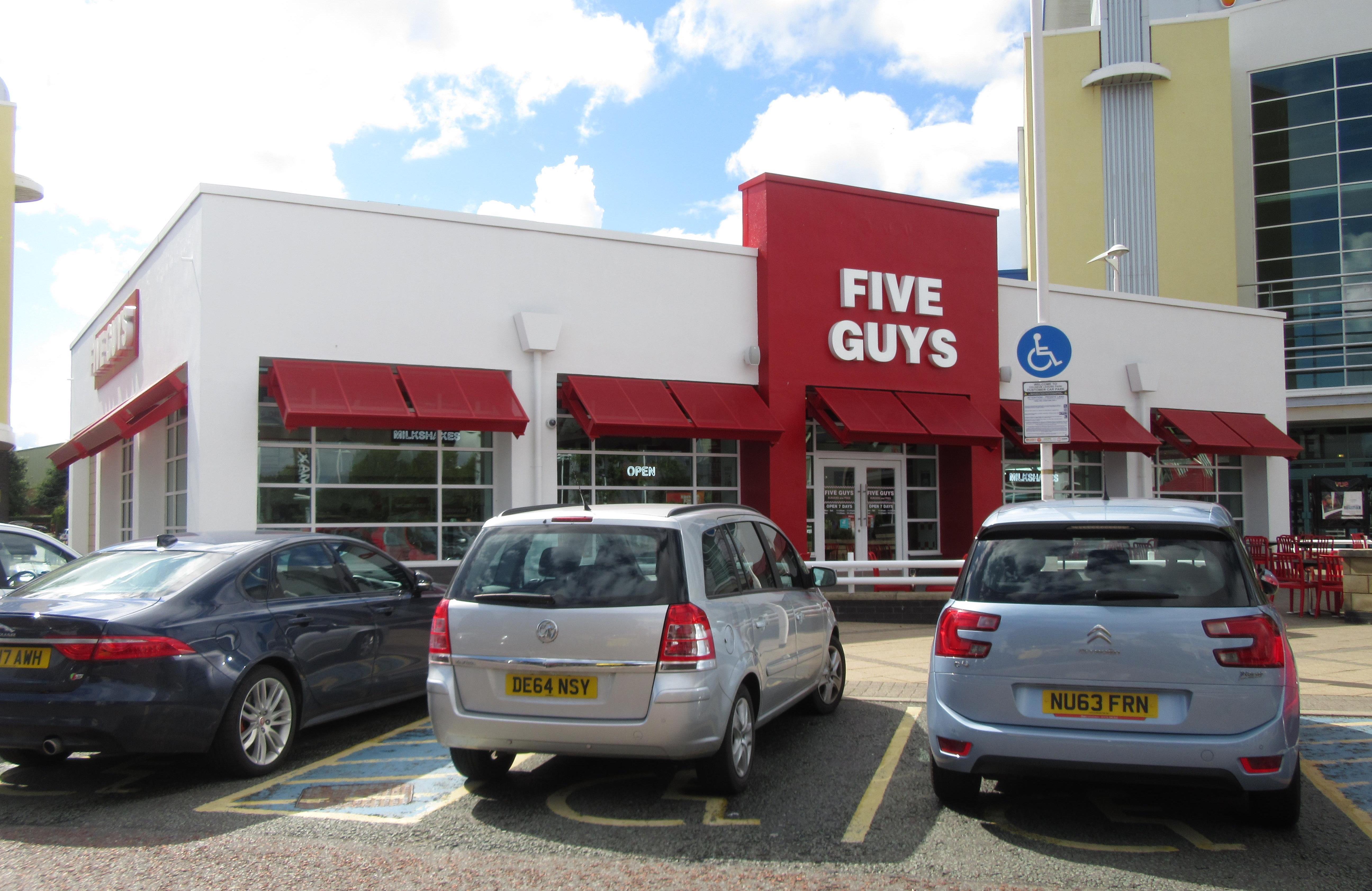 Five Guys Cheshire 2