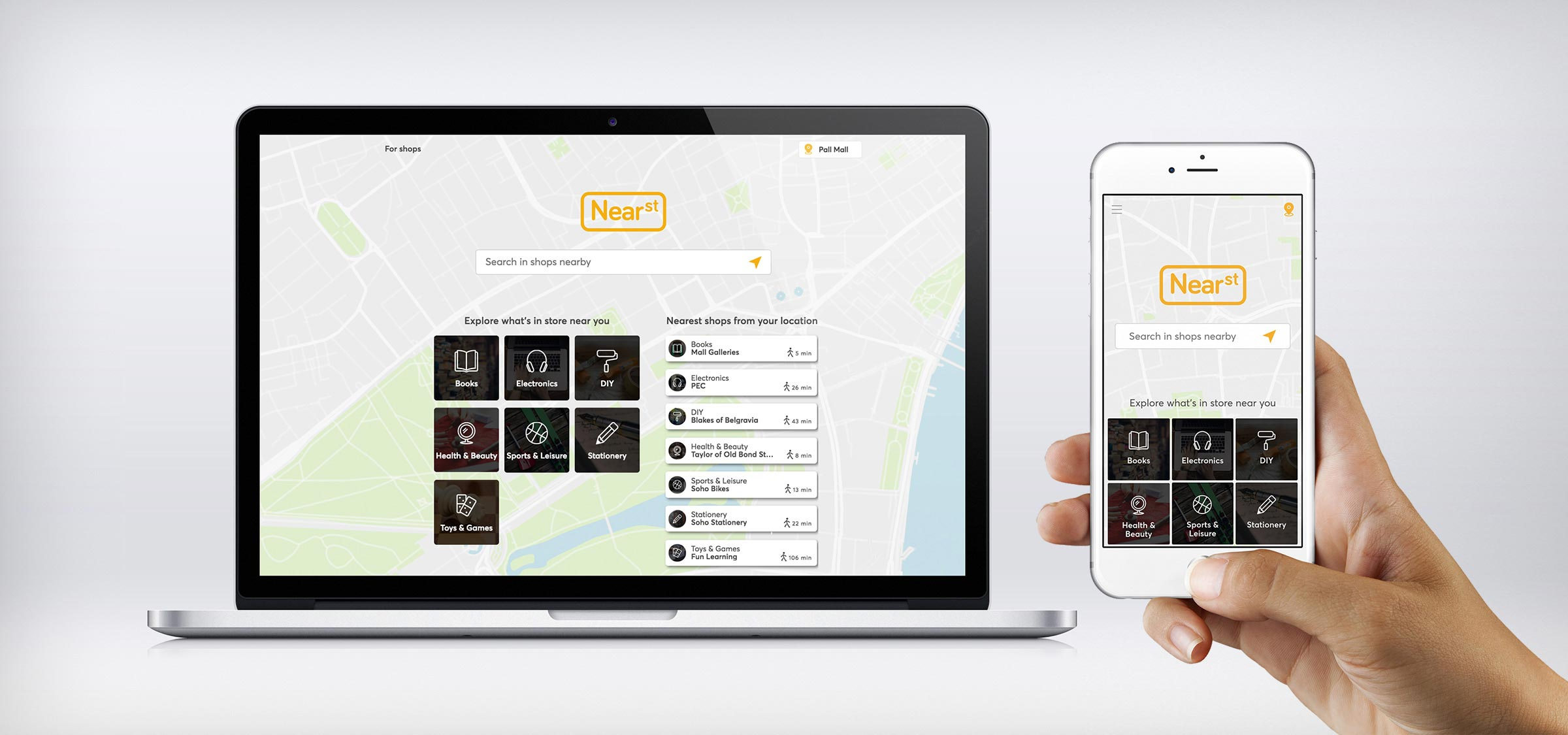 NearSt-Desktop and Mobile-WebHome